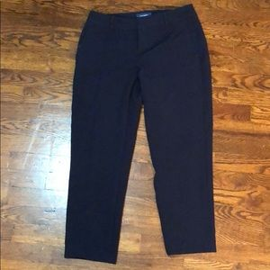 Old Navy Navy Harper mid-rise pants